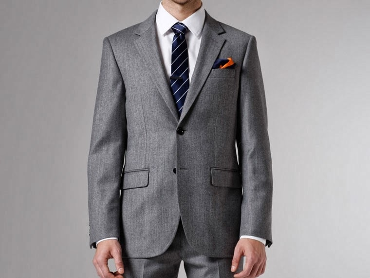 Indochino Gray Twill