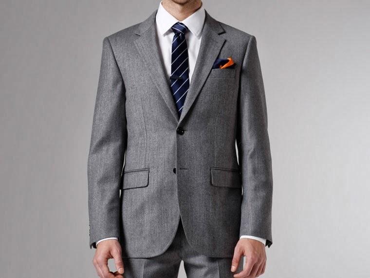 Indochino Gray Twill