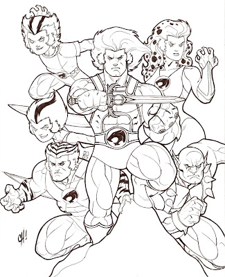 Thundercats Coloring Pages on L  Minas Para Colorear   Coloring Pages  Thundercats Para Dibujar