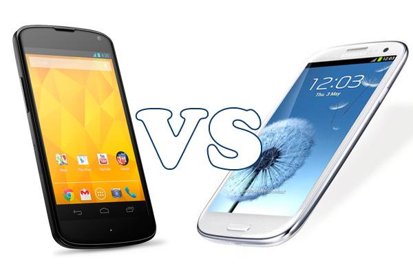 LG Nexus 4 or Samsung Galaxy S III