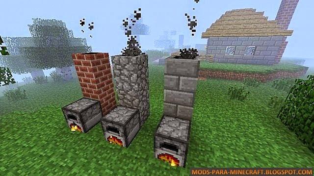 Chimney Mod para Minecraft 1.7.2/1.7.10 (Actualizaci�n)
