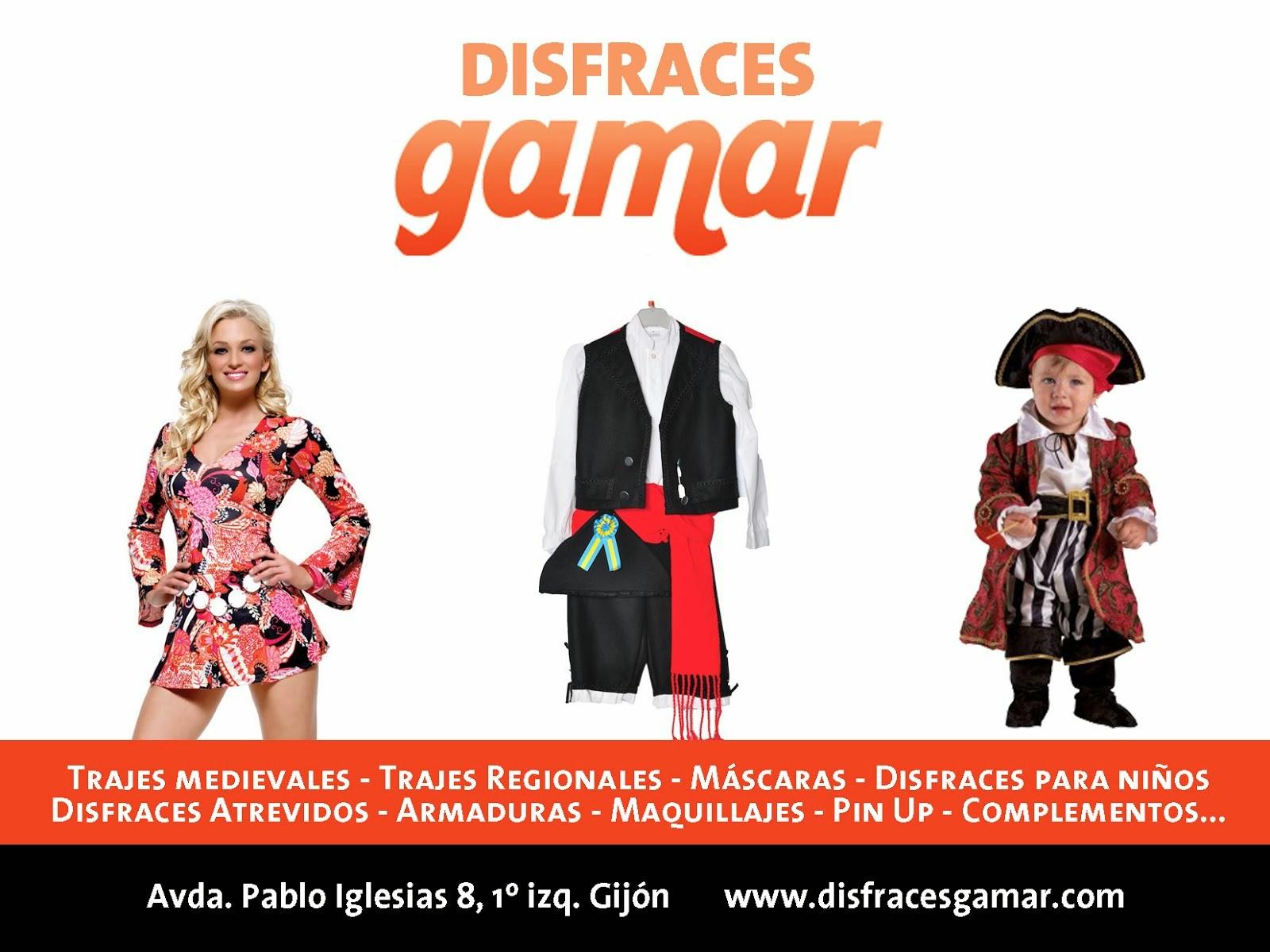 Disfraces Gamar