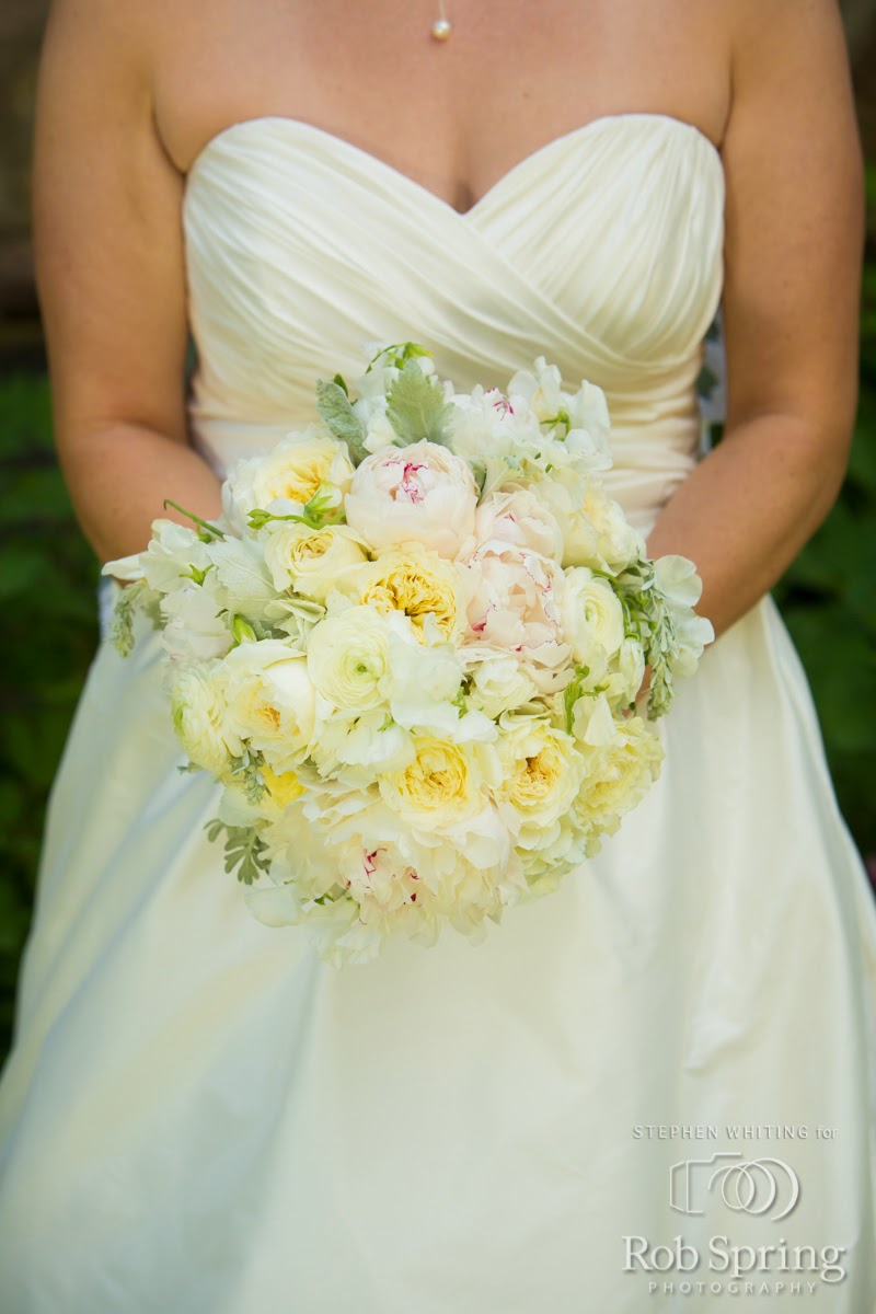 Lake George Wedding Flowers - Bride's Bouquet - Top of the World Golf Resort Wedding - Lake George Wedding - Upstate NY Wedding - Lake George NY Wedding - Splendid Stems Floral Designs