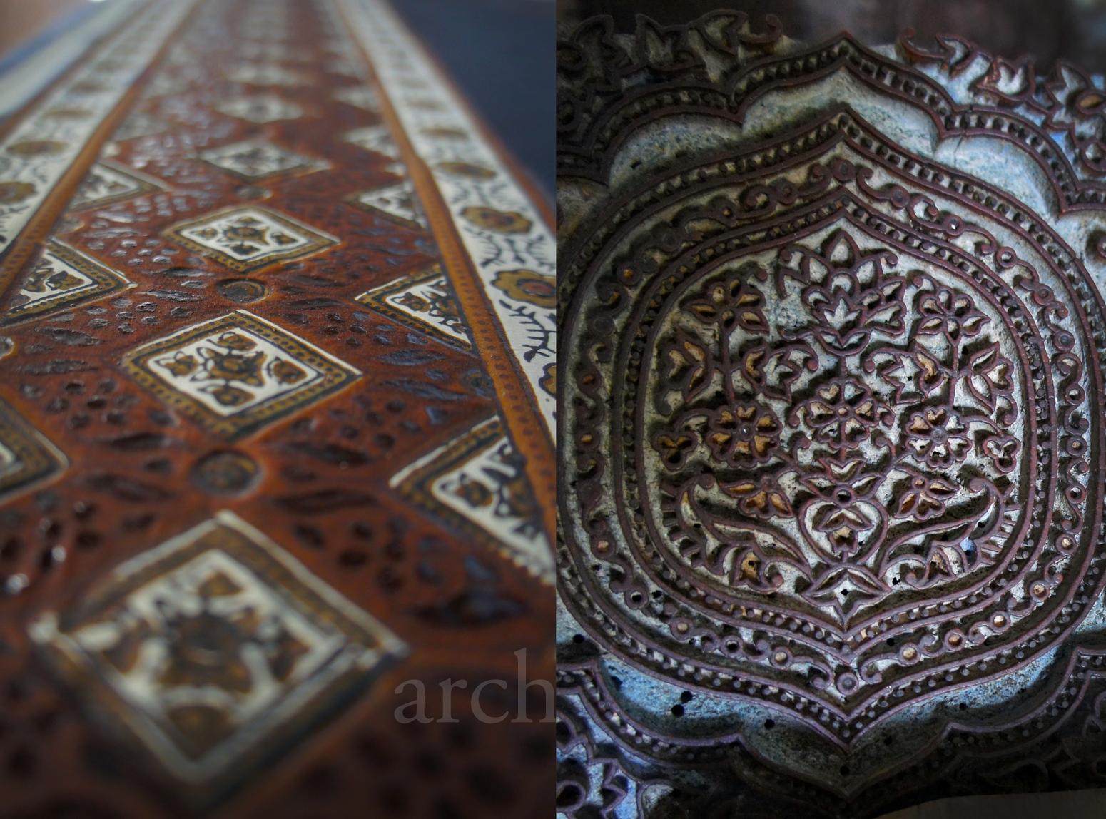 Art Crafts Of India Ajrakh Or Ajarakh