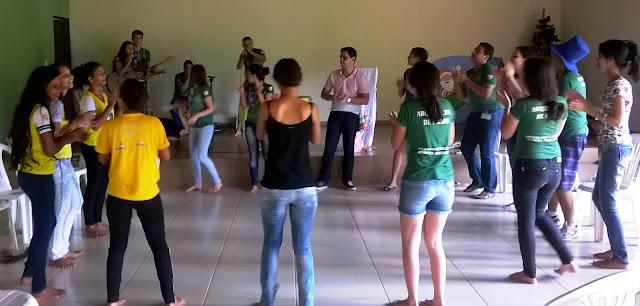 """""""Quero ser adolescente e jovem missionário"""" foi tema de encontro em Palmas (TO)"""