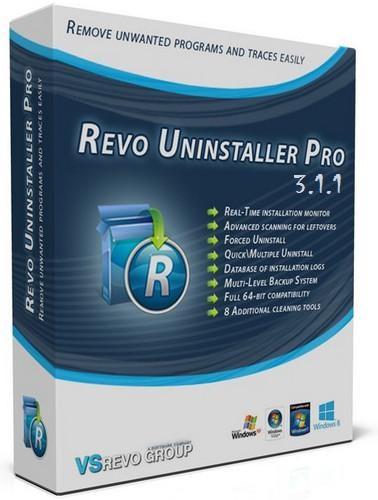Revo Uninstaller Pro 3.1.1