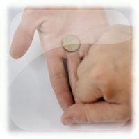 Truco revelado, Magia, Cambio de monedas