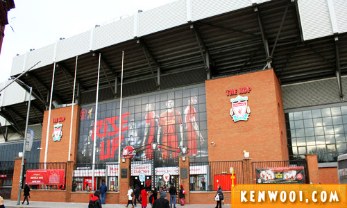 liverpool anfield tour