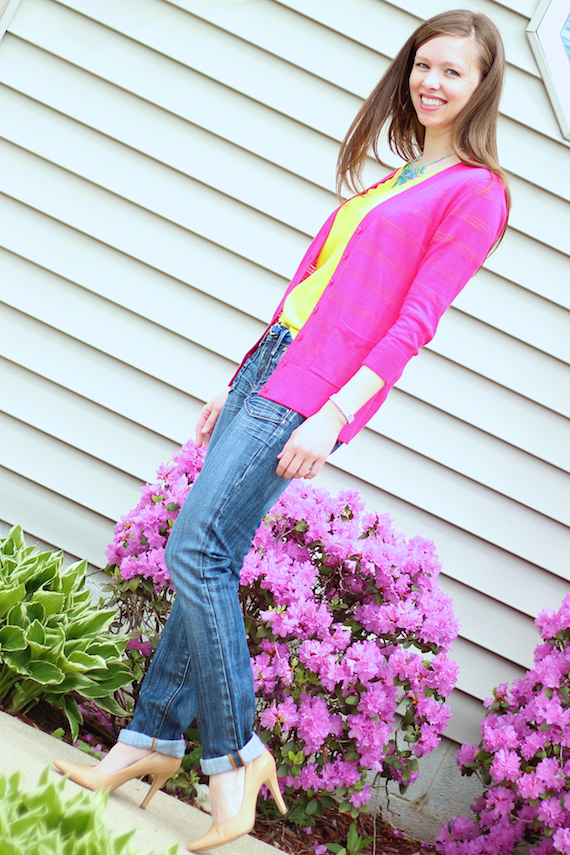 Magenta & Lime - Weekend Wear | StyleSidebar