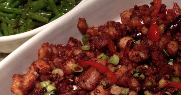 w o k a r e l l a spicy szechuan chilli chicken