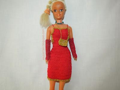 oyuncak bebek kıyafeti