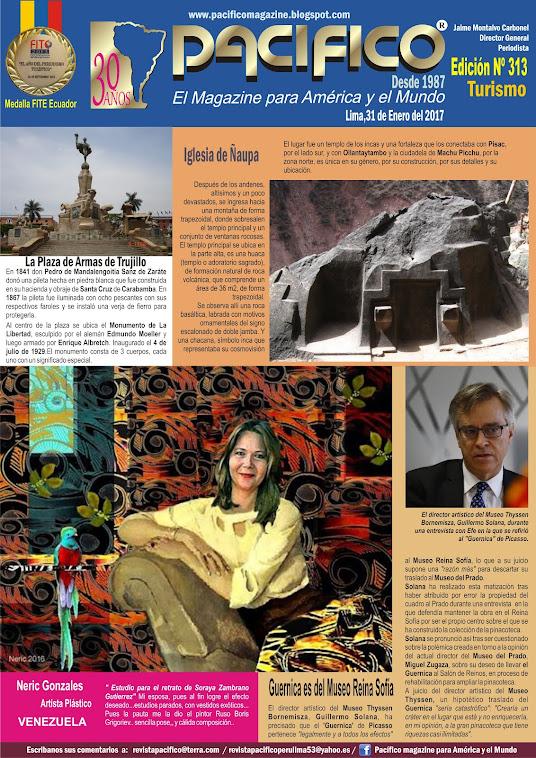 Revista Pacífico Nº 313 Turismo