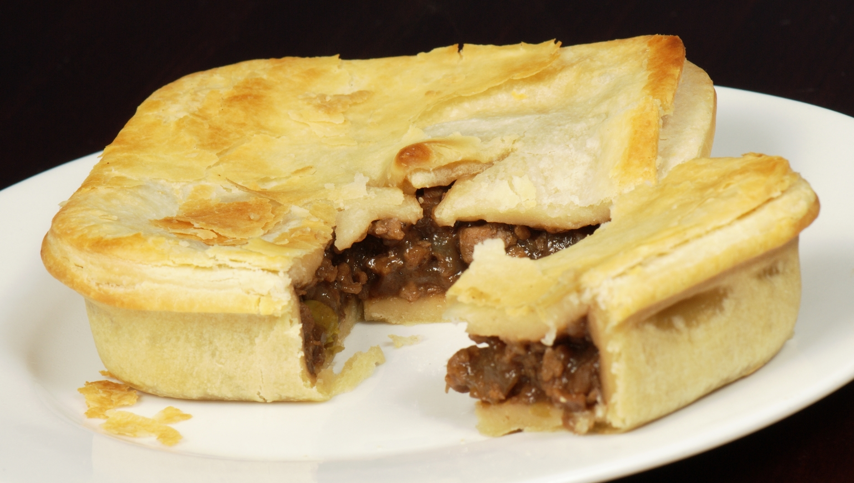 LLOYD MORGAN'S BLOG: Meat Pie