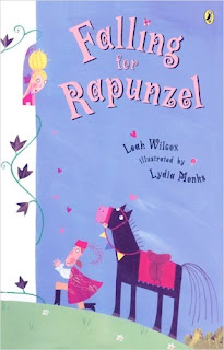 bookcover of Falling for Rapunzel by Leah Wilcox