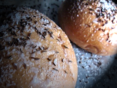 Kummelweck , Potato Rolls topped with Caraway and Salt | Chef Wise