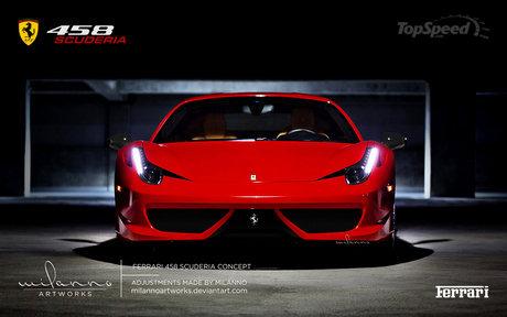 Ferrari 458 Scuderia 3