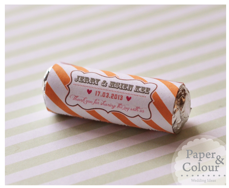 Chocolate For Wedding Door Gift : Paper & Colour: Sweetest Wedding Door Gift Ever