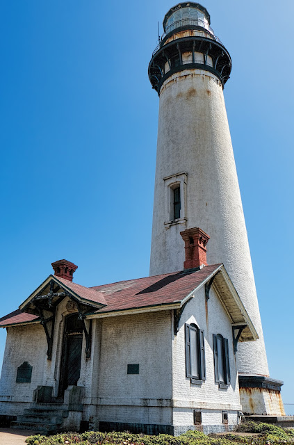 The lighthouse at Pigeon Point