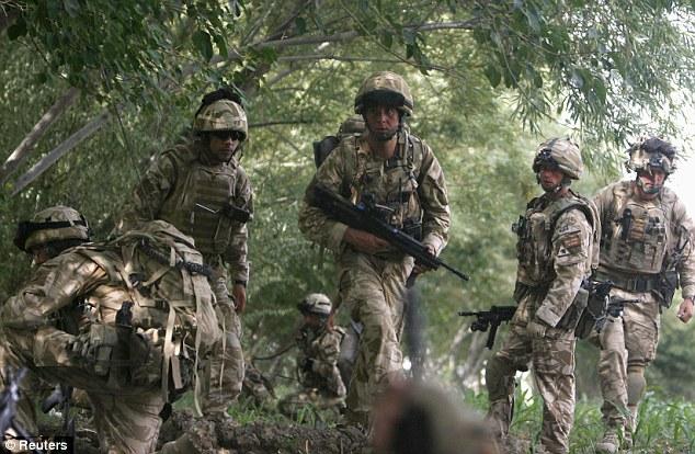 tentera British