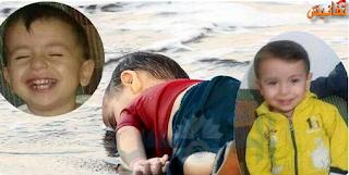 بالصوت : والد الطفل السوري الغارق يروي تفاصيل مأسوية عن ما حدث لهم