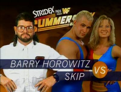 WWF / WWE - SUMMERSLAM 1995 - Barry Horowitz vs. Body Donna Skip w/ Sunny
