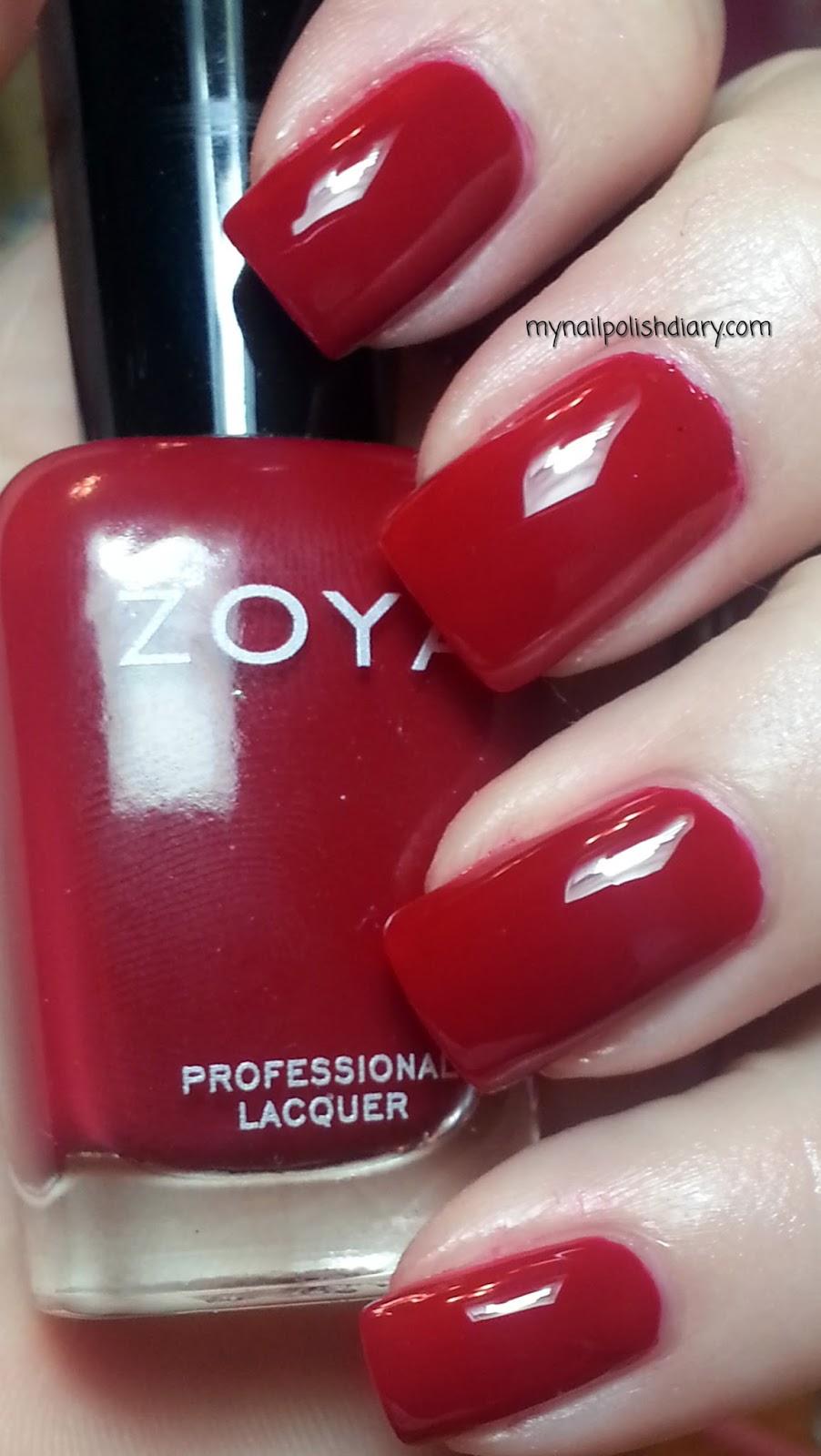 Zoya Red