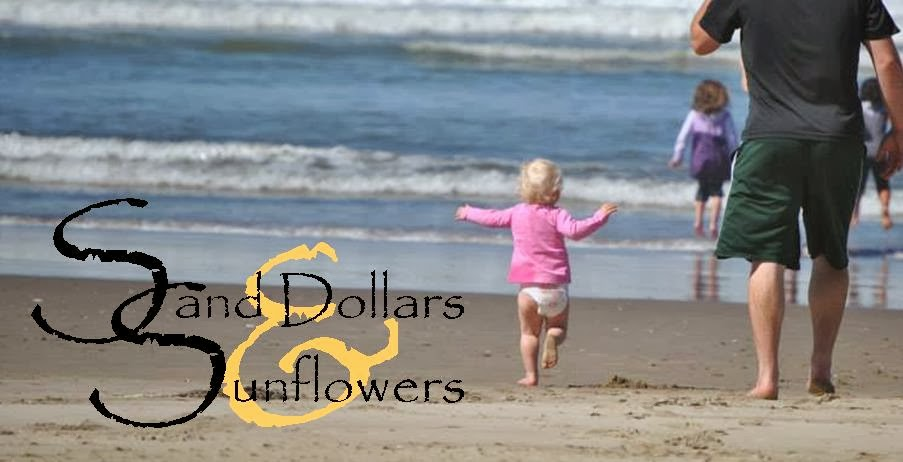 Sand Dollars & Sunflowers