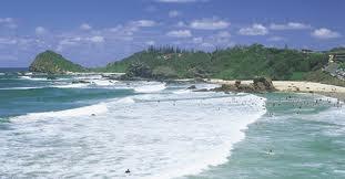Una playa increíble de Australia