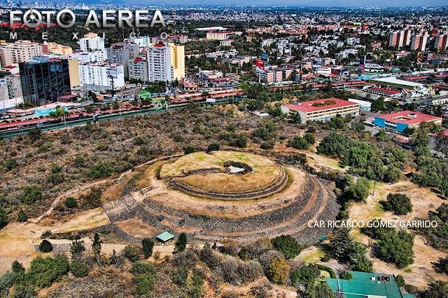 Piramide Circular Cuicuilco - Texcoco