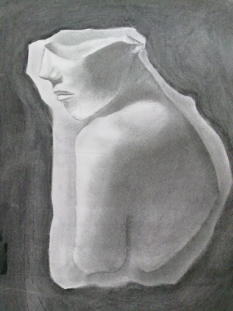 volumen dibujo con sombra