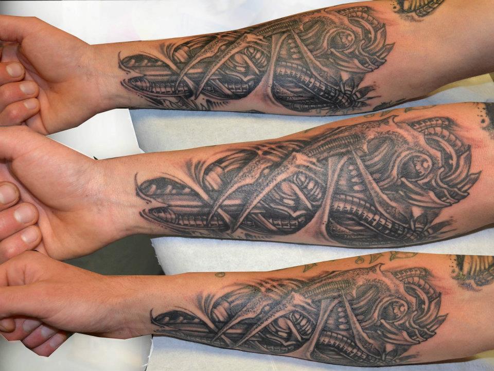 album tattoo 7 : Biomécanique