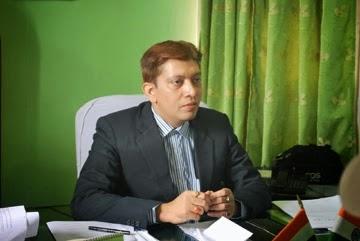Darjeeling DM Punit Yadav