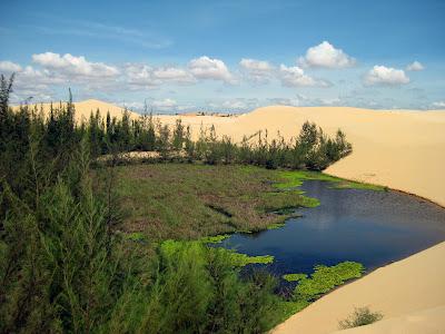 White Lake Bau Trang (Mui Ne, Vietnam)