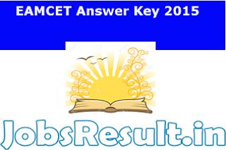 EAMCET Answer Key 2015