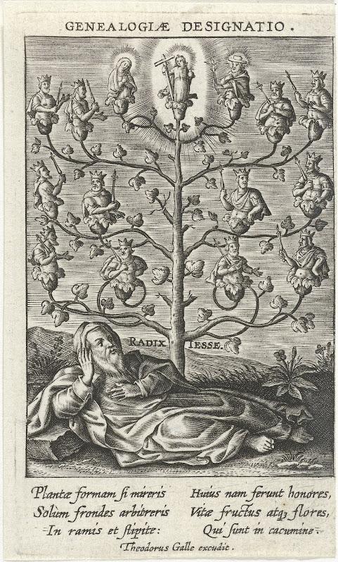 Boom van Jesse, Theodoor Galle, 1581 - 1633