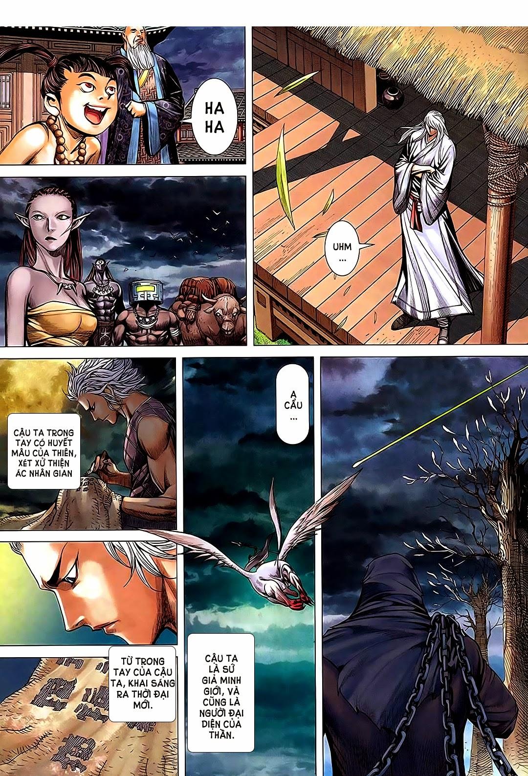 Phong Thần Ký Chap 182 - Trang 34