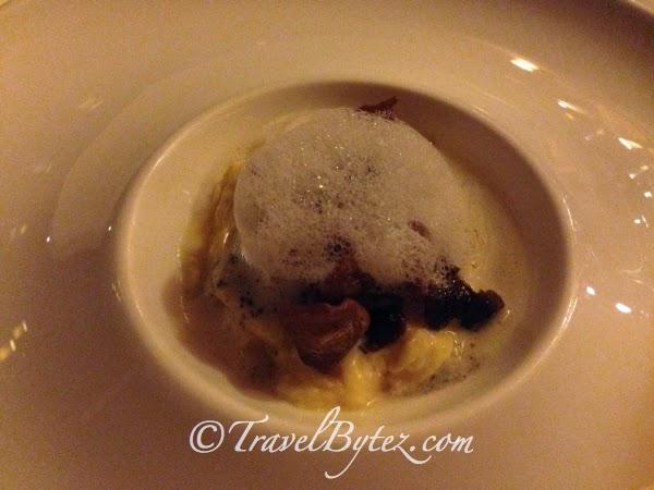 Wild Mushroom Truffle Egg