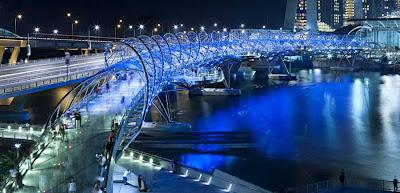 Puente de Doble Helice en Singapur - que visitar