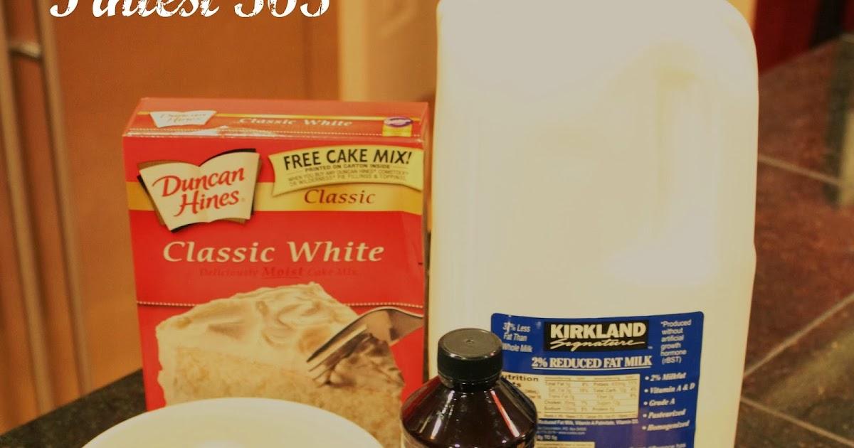 How To Make White Cake Mix Taste Like Bakery