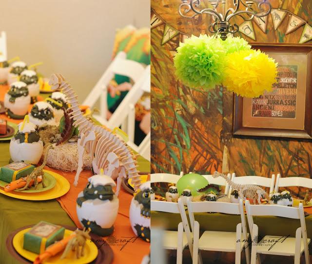 Kids Party Hub: Dinosaur Themed Party Ideas