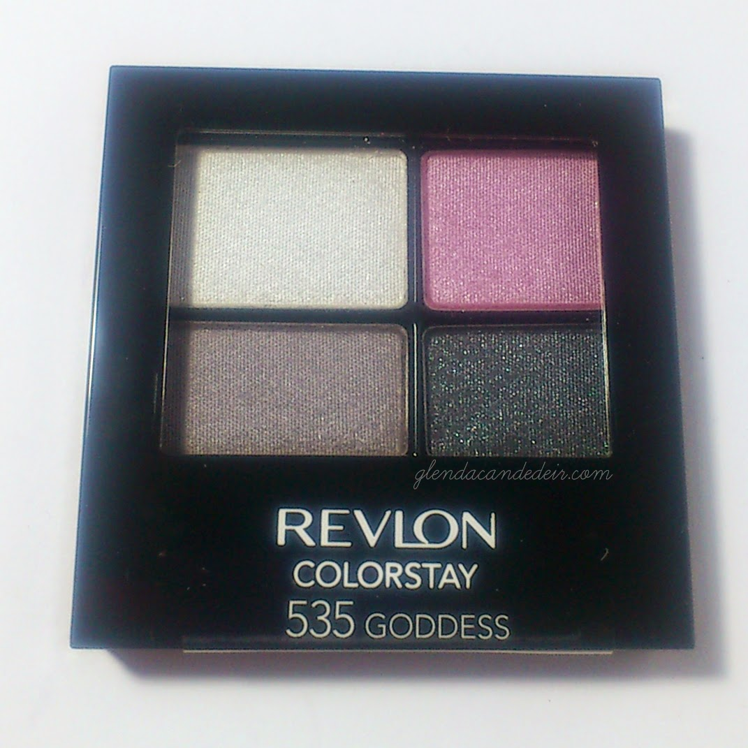 Revlon Colorstay 16 hr Eyeshadow Quad in 535 Goddess