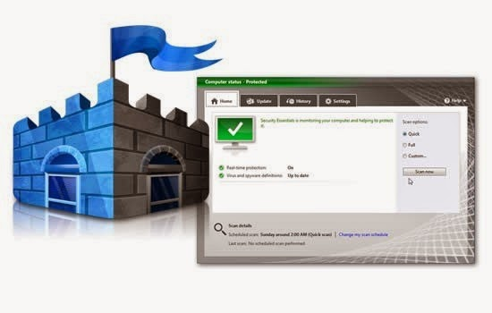 Microsoft Security Essentials 4.5.216.0 Full Version