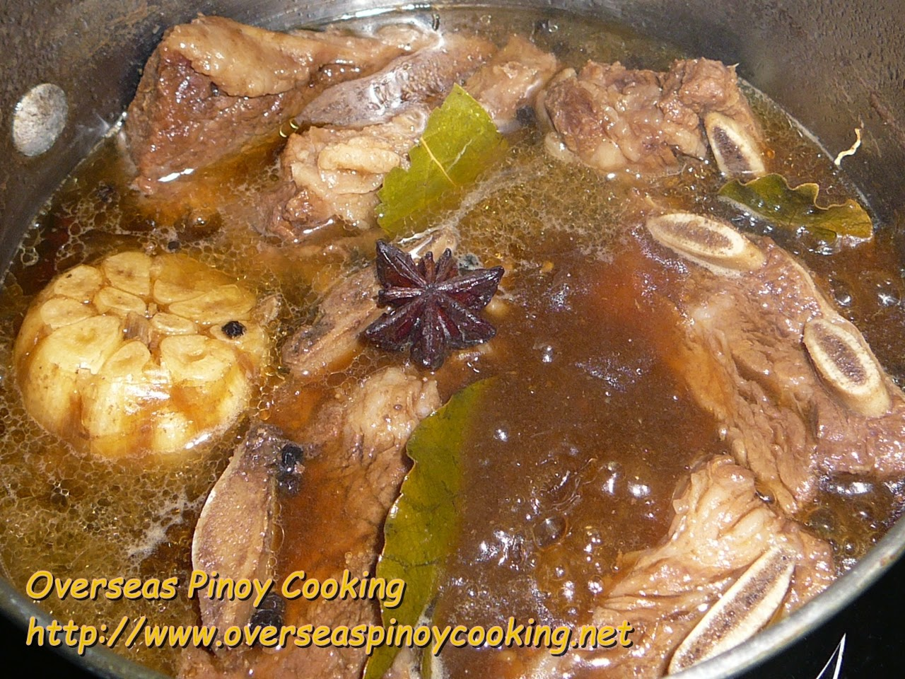 Mango Beer Braised Beef Spare Ribs - Cooking Procedure