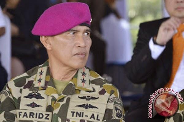 Komandan Korps Marinir (Dankormar) Mayjen TNI (Mar) Ahmad Faridz Washington