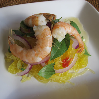 Recipe: Thai-style spaghetti squash salad