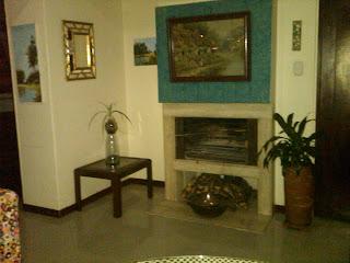 bogota furnished flat with chimney