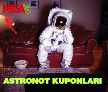 Sürpriz iddaa Kuponları Astronot Kuponları