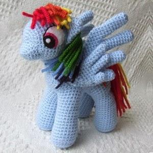 Pequeno Pony Amigurumi Patron : Patrones Amigurumi: Mi pequeno pony