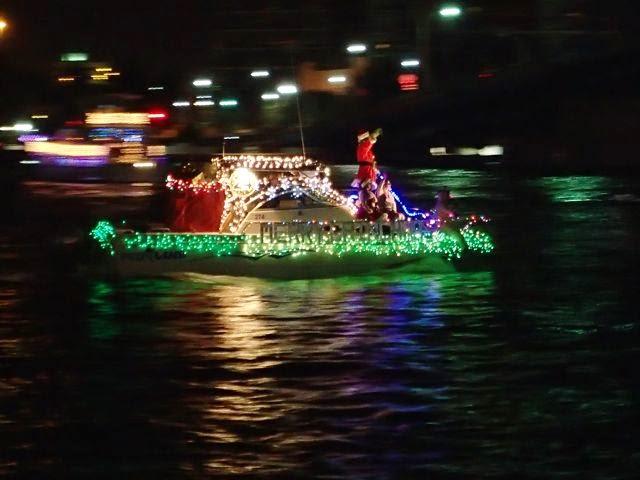jacksonville florida lighted boat parade