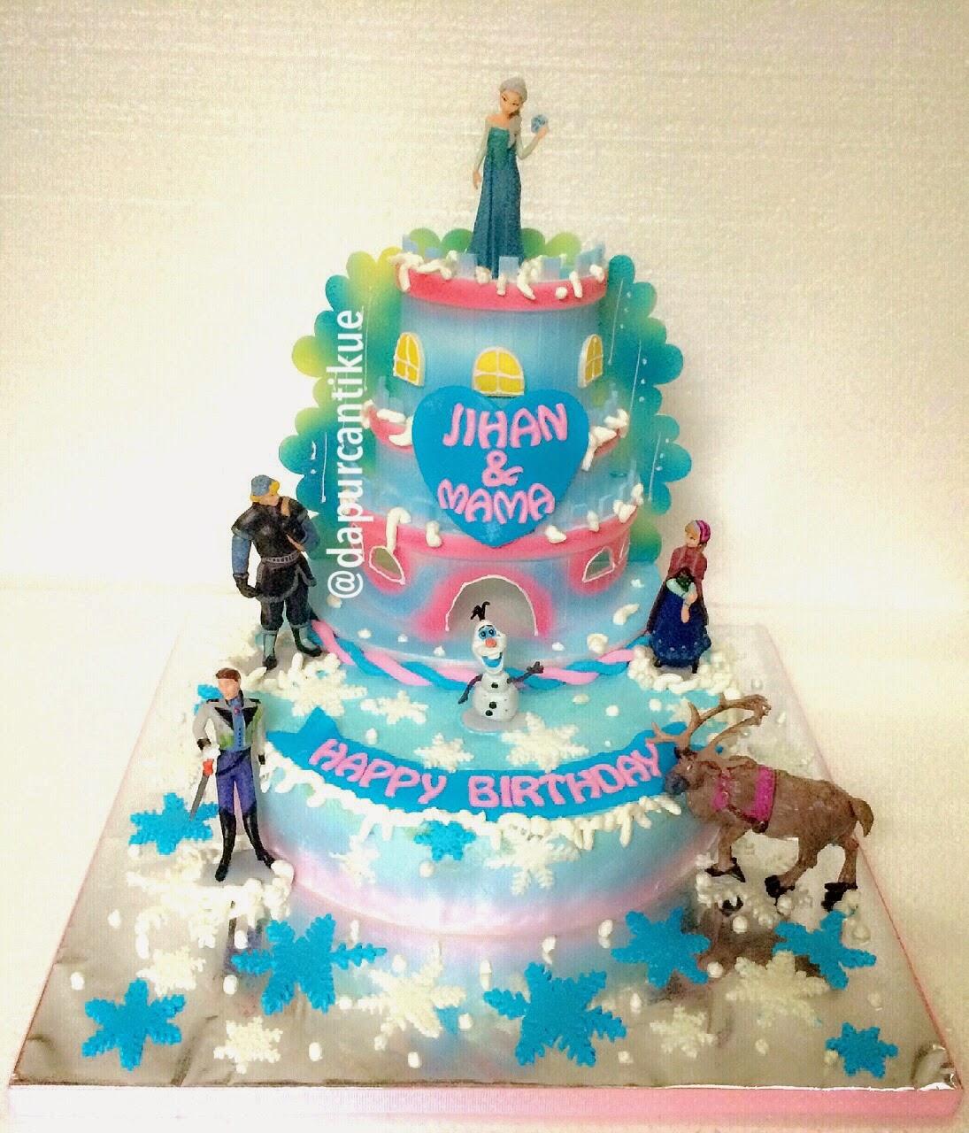 Frozen Disney Birthday Cakes Disney Frozen Castle Birthday